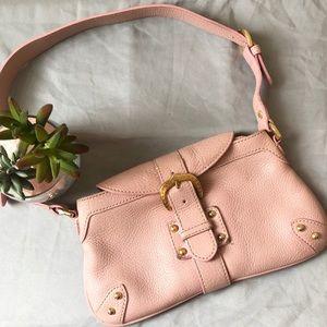"Dooney & Bourke Pink Shoulder Bag 10"" x 6"""